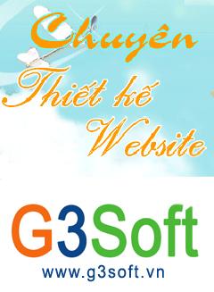 Thiết kế website G3Soft